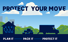 Learn more about FMCSA's consumer protection resources and tools to help identify reputable interstate household goods movers.