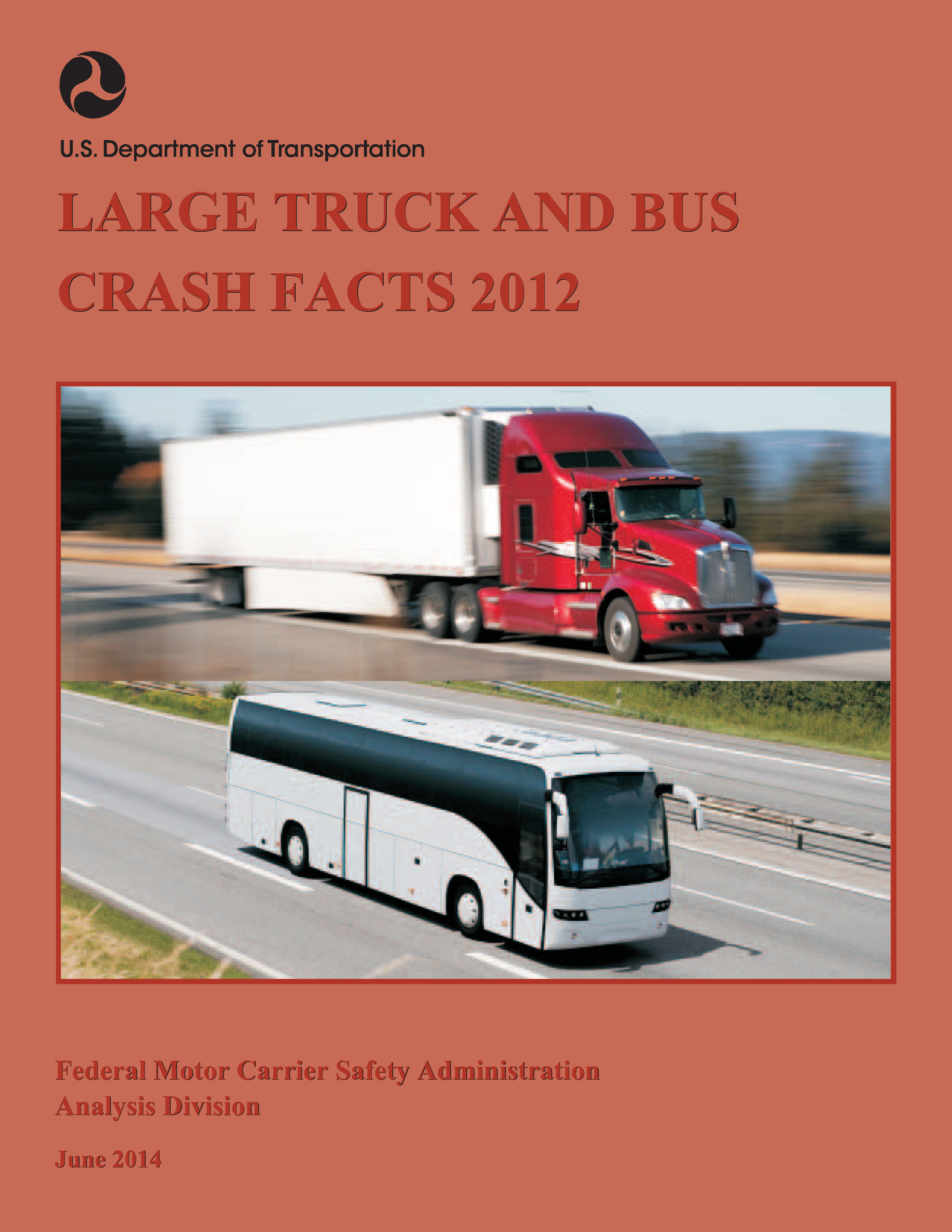 Large Truck and Bus Crash Facts 2012 - Front Cover