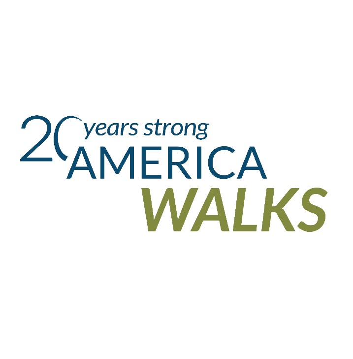 America Walks logo