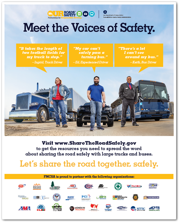 Screenshot of full-page ad - Meet The Voices