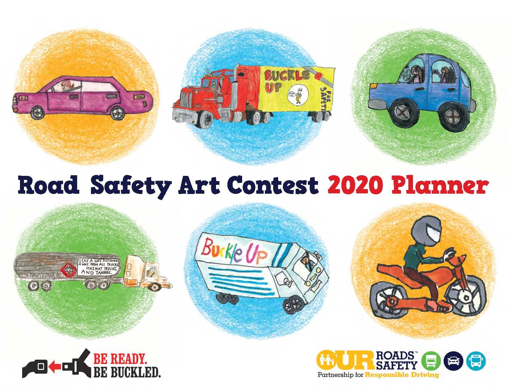 Road Safety Art Contest Planner Cover