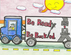 Drawing by 2011 3-6 grade winner Lucia Choi Edison, New Jersey