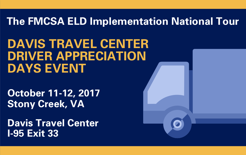 The FMCSA ELD Implementation National Tour
