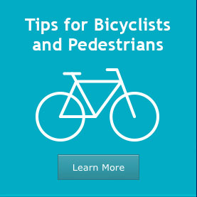 Tips for Bicyclists and Pedestrians