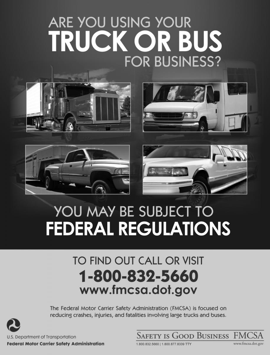 Safety Is Good Business Outreach Materials Federal