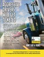 """Aggressive Driving"" Posters and Print Advertisements"