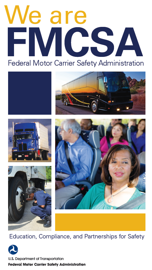 We Are FMCSA Brochure