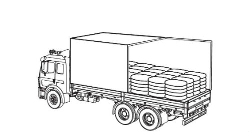 Illustration of cargo fully contained