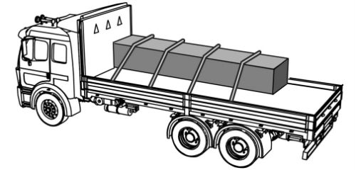 Illustration of cargo Immobilized