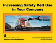 Increasing Safety Belt Use in Your company cover