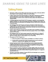 TACT Talking Points