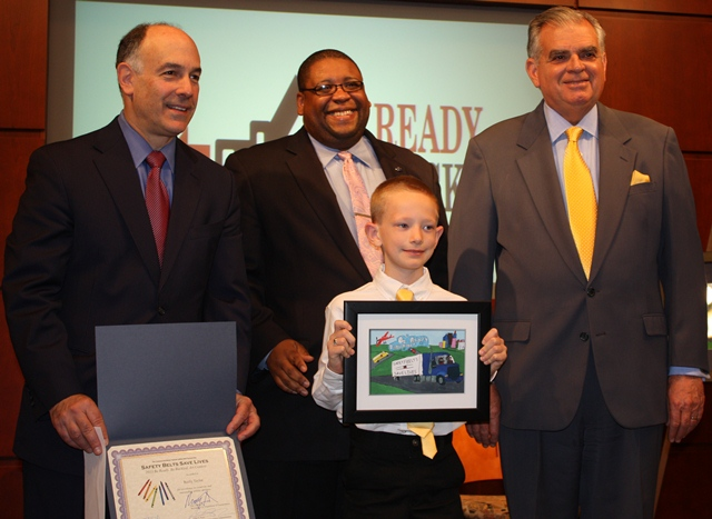 The grand prize winner for the grade 3 to grade 6 category is Reilly Taylor, a third grader from Independence, MI
