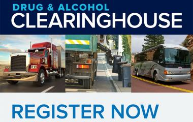 For CDL Holders, Employers, Medical Review Officers, and Substance Abuse Professionals.