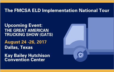 ELD Implementation National Tour 2017