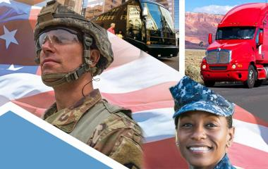 Learn more about how FMCSA is helping military drivers.