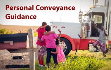 Guidance outlines when CMV drivers may operate trucks or buses for personal conveyance.