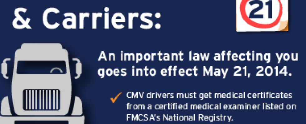 Become a Certified Medical Examiner | Federal Motor Carrier Safety ...