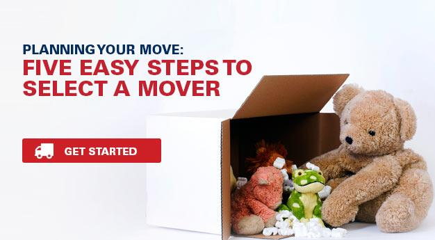 Five Easy Steps to Select a Mover