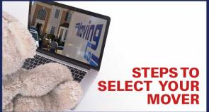 Steps to select your mover