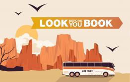 Look before you book