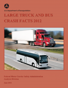 Large truck and bus crash facts 2012 federal motor for What is the federal motor carrier safety regulations